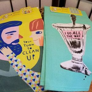 Other - NWT Hysterical Dishtowels